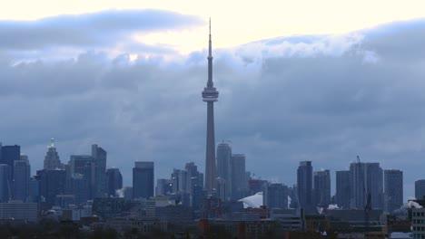 Overcast-Toronto-Skyline
