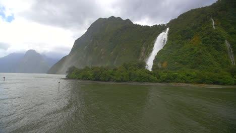 Panning-Across-Waterfall