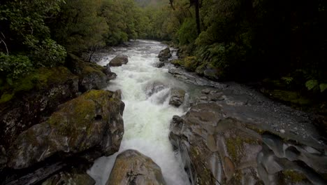 Panning-Down-a-Fast-Flowing-River