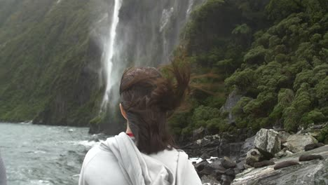 Lady-Watching-Waterfall