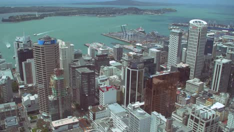 Panning-Over-Auckland-City