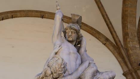Rape-of-Polissena-Statue-Florence