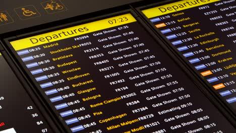 Airport-Departure-Board