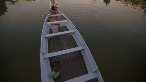 Vietnamese-Boat-Passing-Under-Bridge