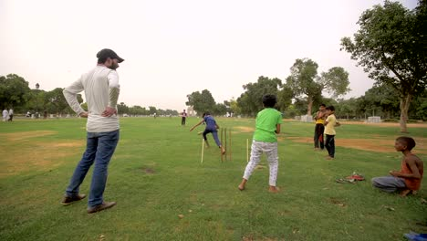 Young-Indian-Wicket-Keeper-Catches-a-Ball