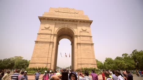 Tourist-Photographing-India-Gate-2