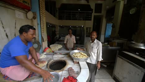 Man-Cooking-Traditional-Indian-Street-Food