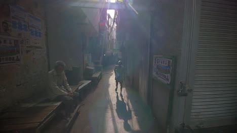 Elderly-Man-Walks-Down-Dark-Alleyway
