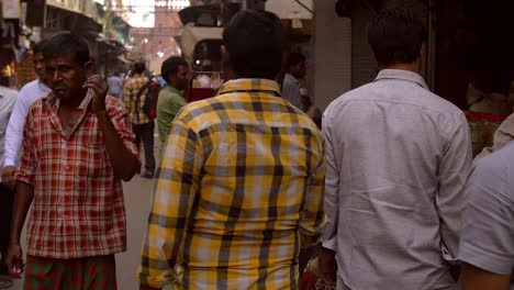 POV-Walking-Down-Busy-Indian-Street