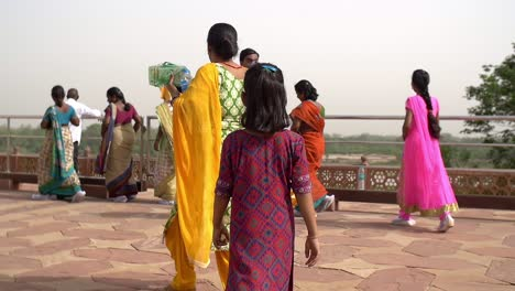Young-Indian-Girl-Walking