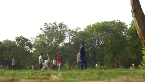 Indian-Man-Bowling-in-Cricket-Game