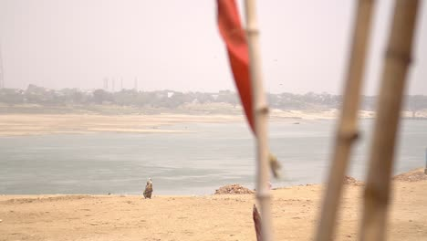 Women-Walking-Along-Ganges-Riverbank