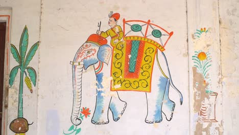 Indian-Elephant-Mural