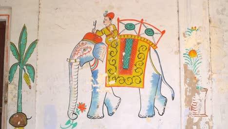 Indian-Elephant-Mural