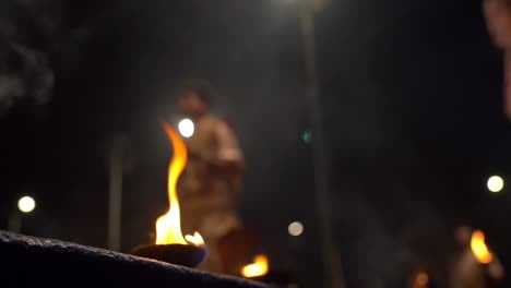 Ganga-Aarti-Ceremonial-Candle