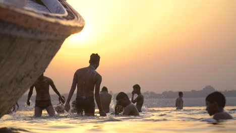 Young-Men-Bathing-in-the-Ganges