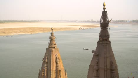 Shot-of-Ganges-Sandbanks-and-Tower-Tops