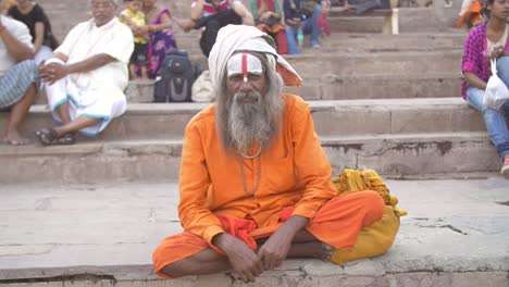 Indian-Sadhu-Sitting-Cross-Legged