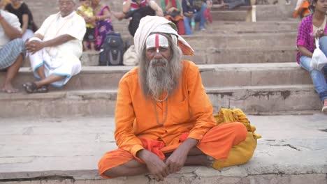 Indian-Sadhu-Sitting-Cross-Legged