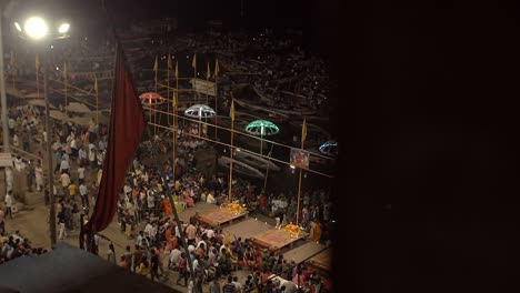 Crowds-at-Varanasi-Night-Ceremony
