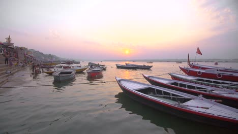 River-Ganges-at-Sunset