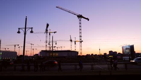 Panning-Across-Berlin-Sunset