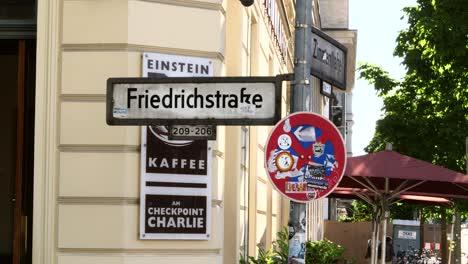 Friedrichstrasse-Sign