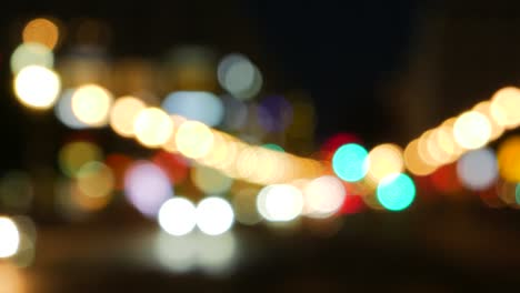 Out-of-Focus-Car-Lights-at-Night