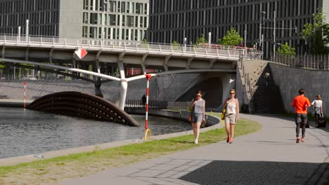 Man-Running-Near-River-Spree