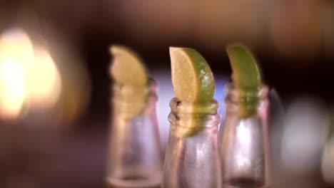 Slices-of-Lime-in-Beer-Bottle-Neck