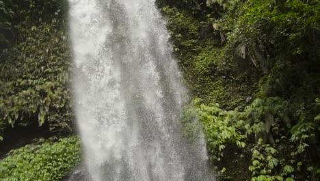Shot-Panning-Down-a-Waterfall