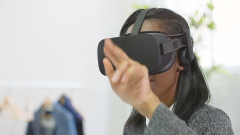 Woman-Using-VR-Headset