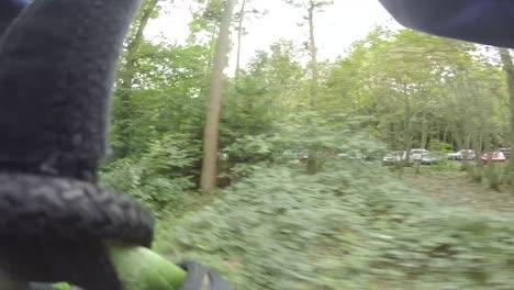 POV-Zipwire-Through-Woodland