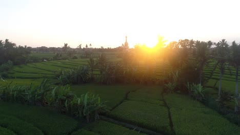 Sunset-Over-Indonesian-Farmland