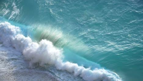 Turquoise-Wave-Crashing-on-a-Beach