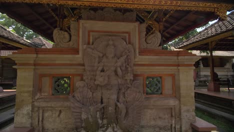 Statue-of-Saraswati-Seen-Through-a-Doorway