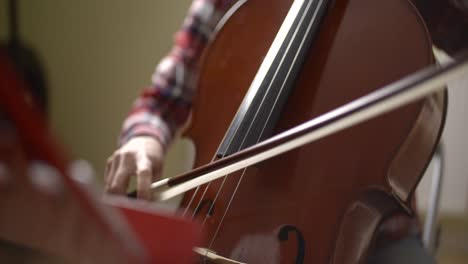 Musician-Playing-Cello