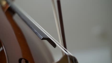 Slow-Motion-Shot-of-Cello-Playing