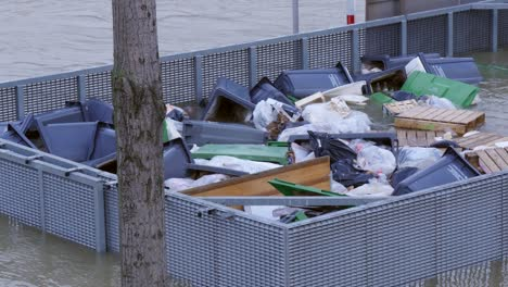 Bins-Floating-on-Flooded-River-Seine