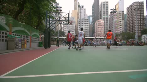 Basketball-Game-in-Hong-Kong