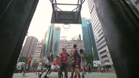 Players-on-a-Basketball-Court