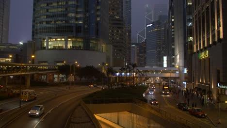 Downtown-Hong-Kong-at-Night