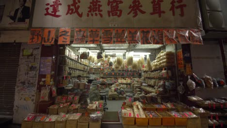 Tracking-In-and-Out-of-Small-Shop-In-Hong-Kong