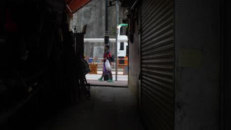 People-Walking-Past-Dark-Alley