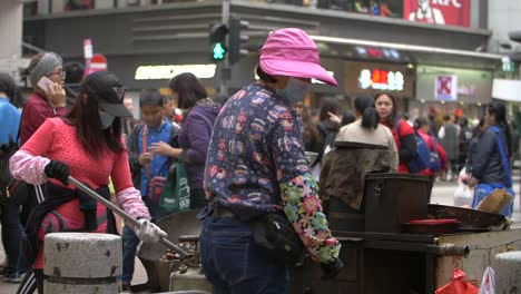 Chestnut-Stall-in-Hong-Kong