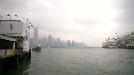Hong-Kong-Ferry-and-Skyline