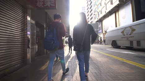 Tracking-Behind-Couple-Walking-in-Hong-Kong