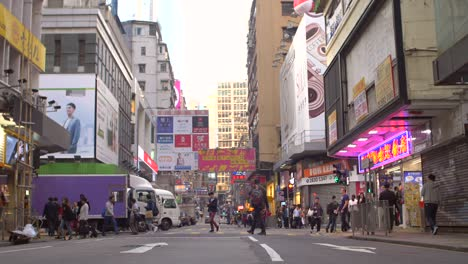 Hong-Kong-Street-with-Billboards