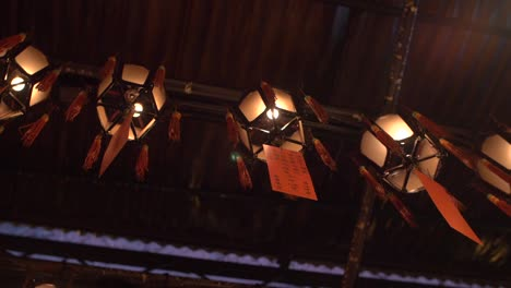 Lanterns-Hanging-From-Man-Mo-Temple-Ceiling