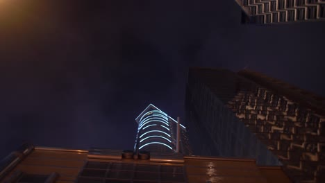 Rotating-Around-Looking-up-at-Skyscrapers